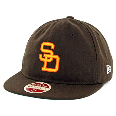 Amazon.com   New Era 5950 San Diego Padres Vintage Wool Classic ... ee22ecc607f
