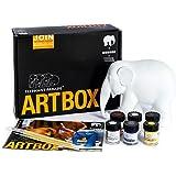 Elefant Parade Malen Sie Ihr eigene Elefant–Art box (15cm)