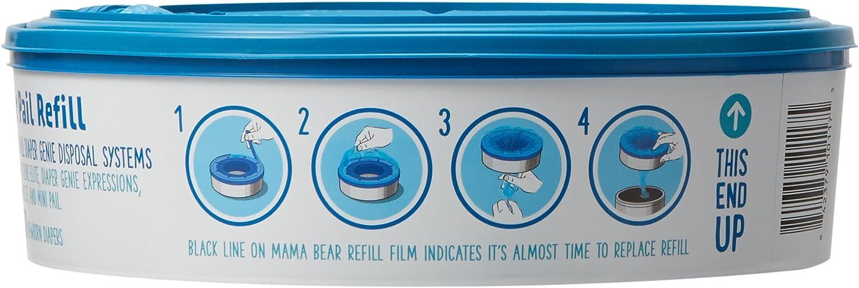 Brand - Mama Bear Diaper Pail Refills for Diaper Genie Pails, 270 Count