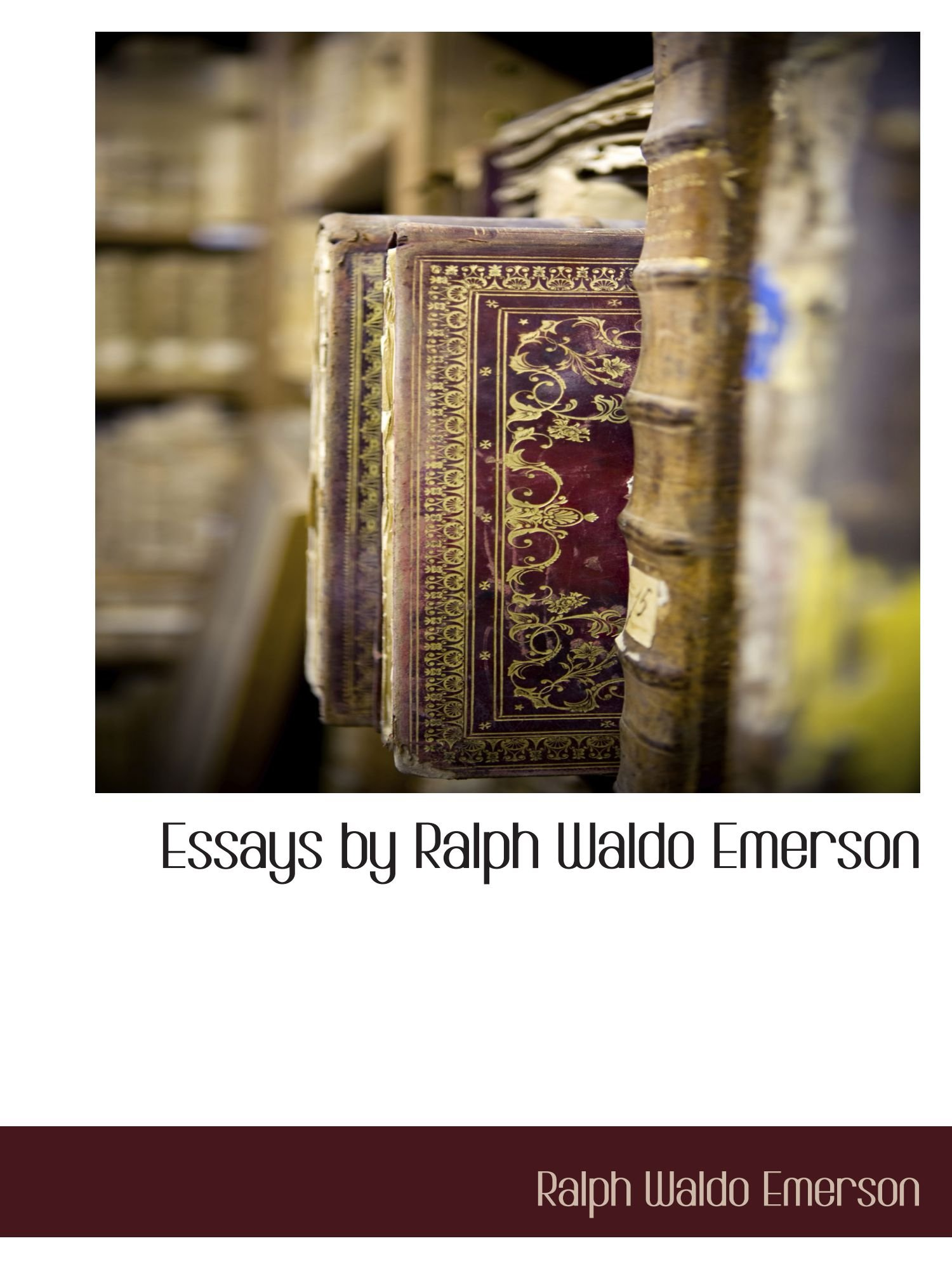 Download Essays by Ralph Waldo Emerson pdf