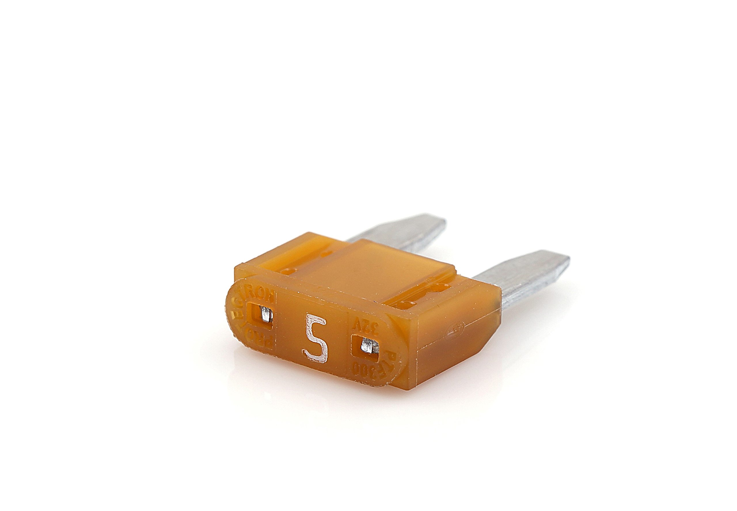 PROTECTRON MINI BLADE FUSE-5 AMP(Pack of 5) product image