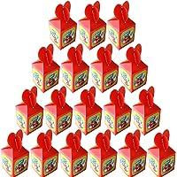 Super Mario Kids Party Boxes 18 stuks, Herbruikbare Kids Mario Party Tassen voor Thema Verjaardag Feest Gunsten Give…