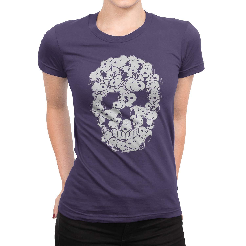 Skull Cap Snoppy Shirt Snoopy Lover Gift Merchandise T-Shirt