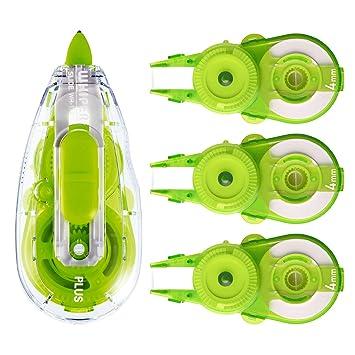 Plus Cinta correctora limpiaparabrisas deslizante 4 mm cuerpo verde ...