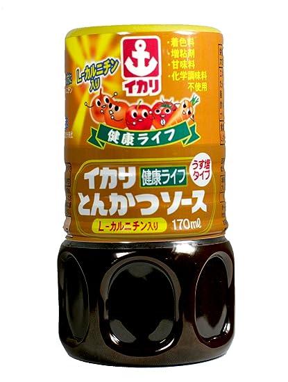 Ikari piezas 170mlX5 saludable salsa tonkatsu vida