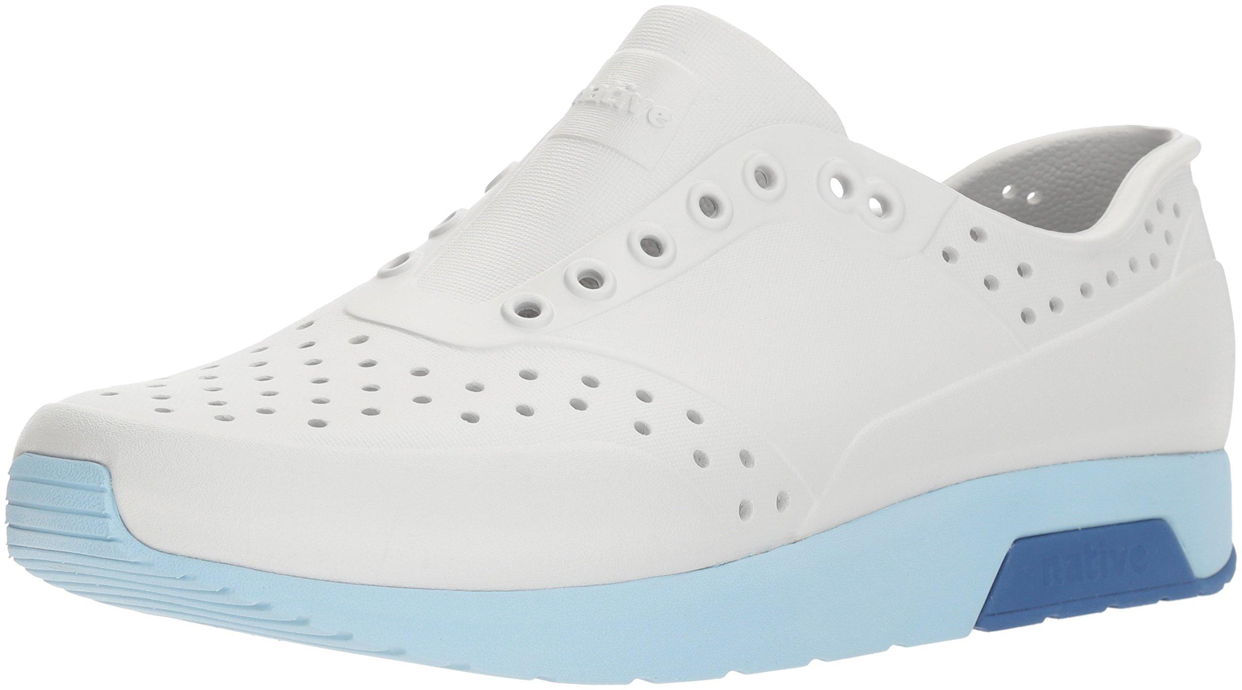 native Men's Lennox Water Shoe, Mist Grey/Sky Blue/Victoria Blue, 10 Men's M US