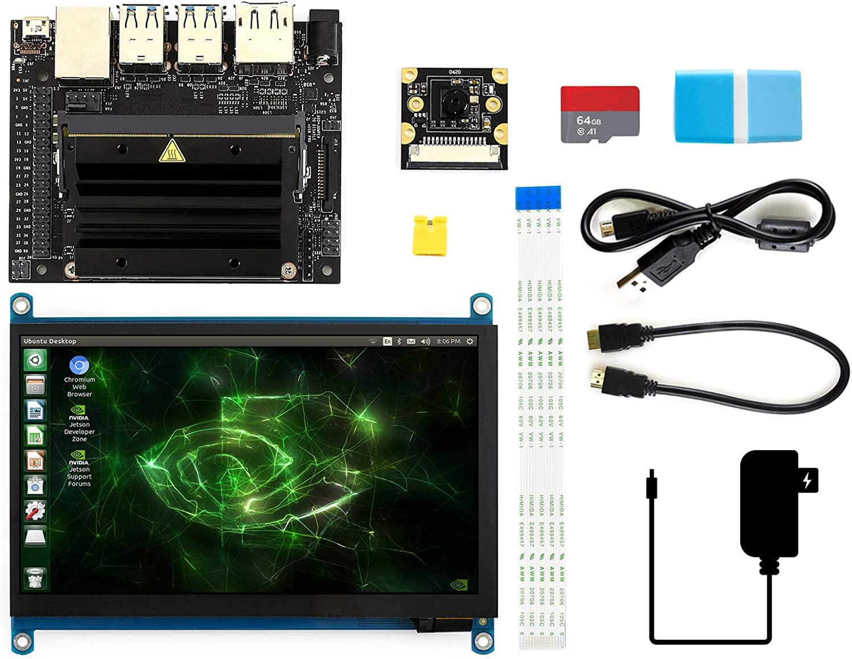 Waveshare Jetson Nano Developer Kit Package C With Computer Zubehör