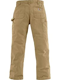 Carhartt Men's Relaxed-Fit Washed Twill Dungaree Pant