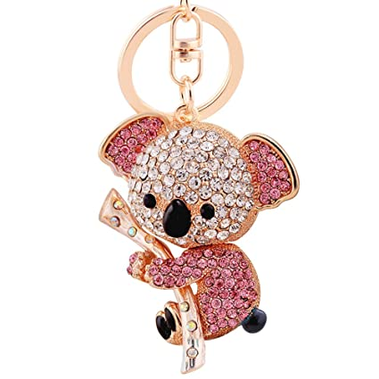 Amazon.com  EASYA Key Keychain Cute Animal Keychains Crystal ... 1305542385