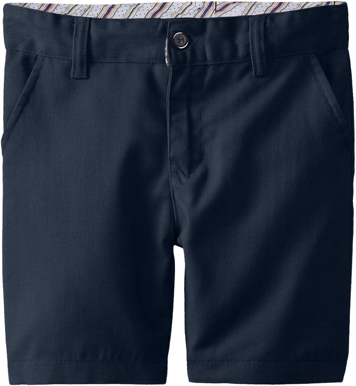 Genuine Little Girls Twill Bermuda Shorts Khaki