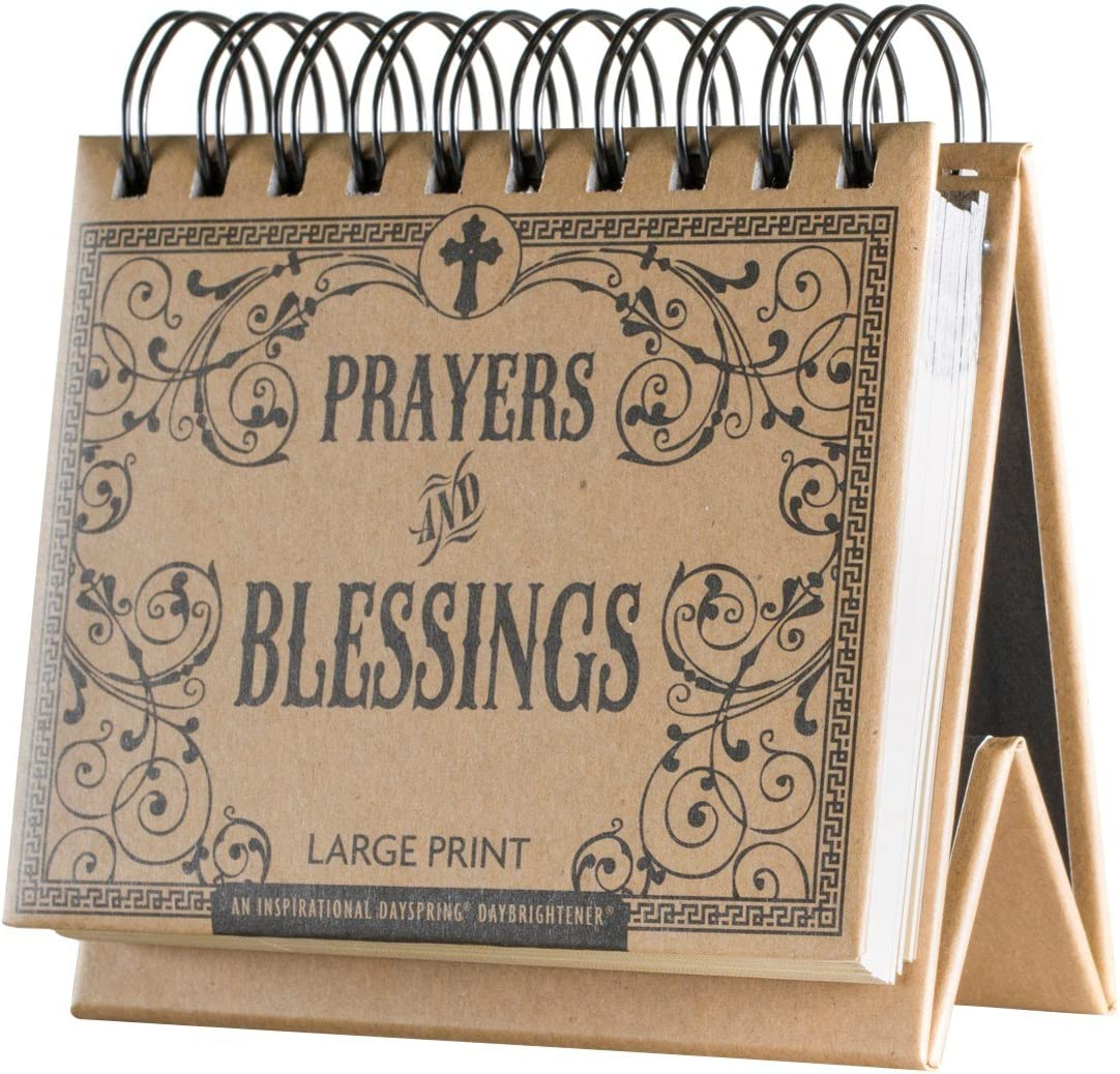 Flip Calendar - Prayers and Blessings Large Print