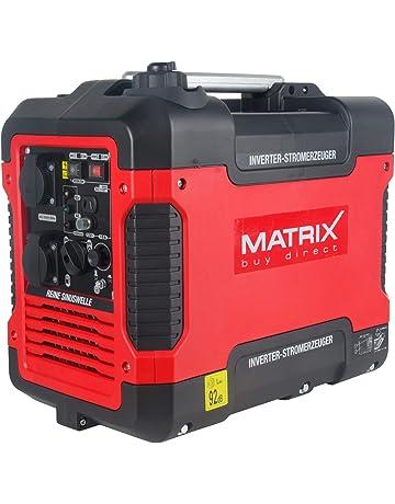 Matrix 160100032 Inverter Generadores de corriente, Rojo, Negro