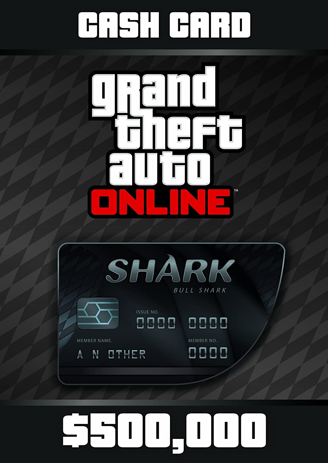 Grand Theft Auto Online: Bull Shark Cash Card - PS3 [Digital Code]