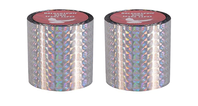 Spick Global Holographic Pigeon Control Ribbon (150ftx50mm) - Set of 2