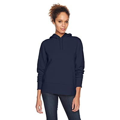 Essentials Women's French Terry Fleece Pullover Hoodie: Clothing