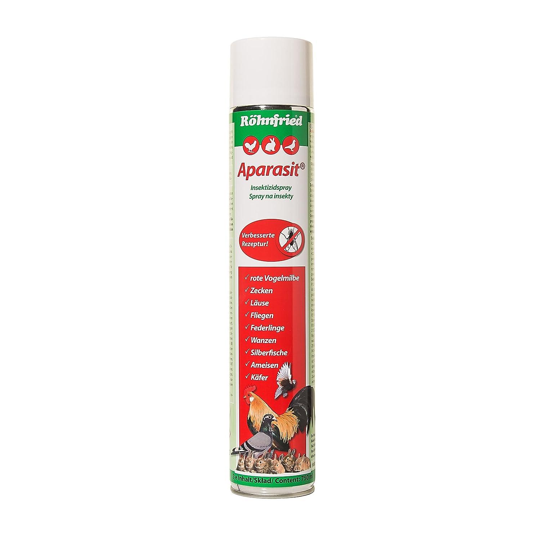 Röhnfried Aparasit Insektenspray (750 ml), Mittel gegen Milben ...