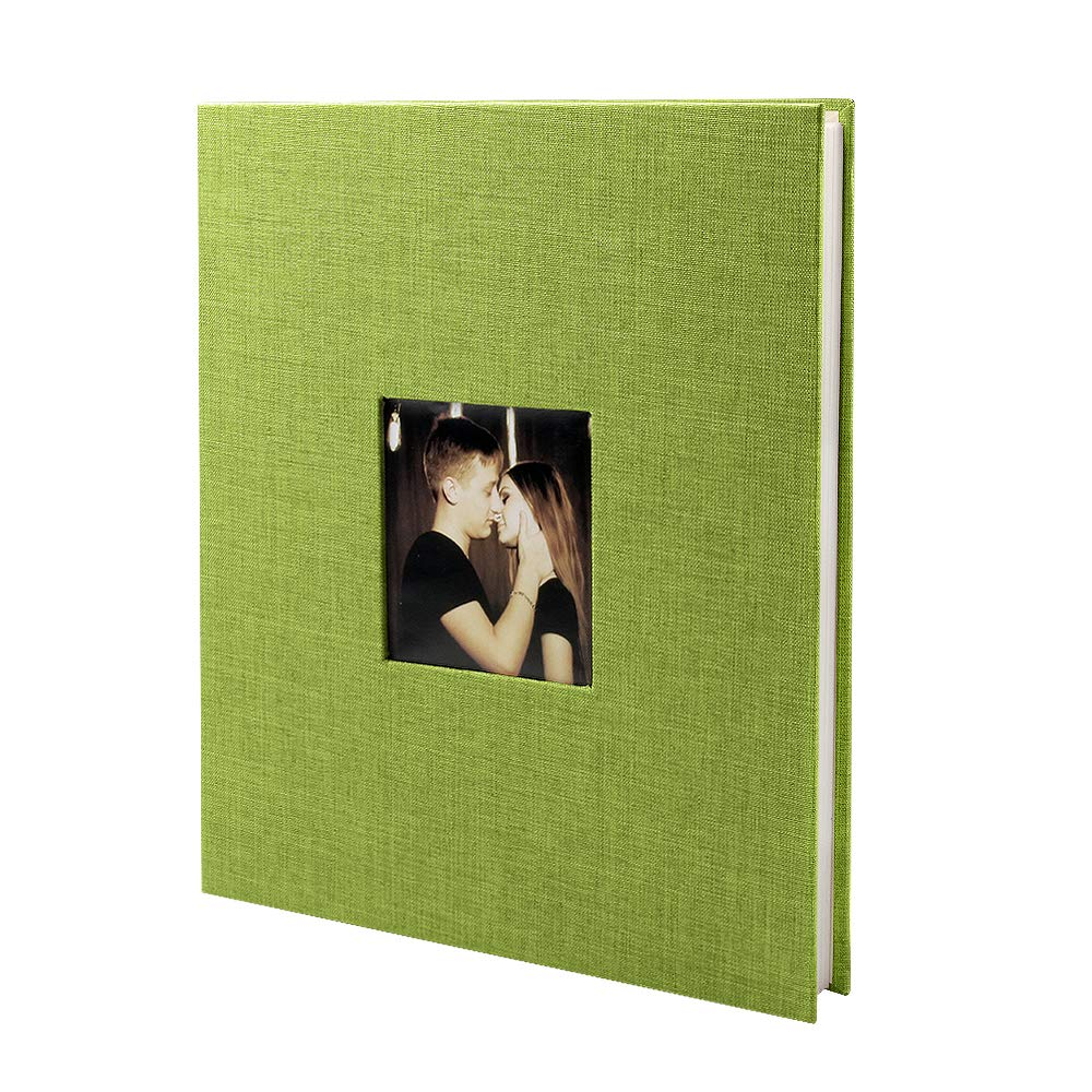 VEESUN Álbum de Lino Fotos para Pegar Lino de Álbum Scrapbooking DIY Scrapbook Boda del cumpleaños del día de San valentín niña su mamá Amigas, Beige 2847a8