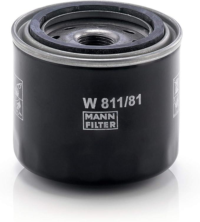 Original Mann Filter Ölfilter W 811 81 Für Pkw Und Nutzfahrzeuge Auto