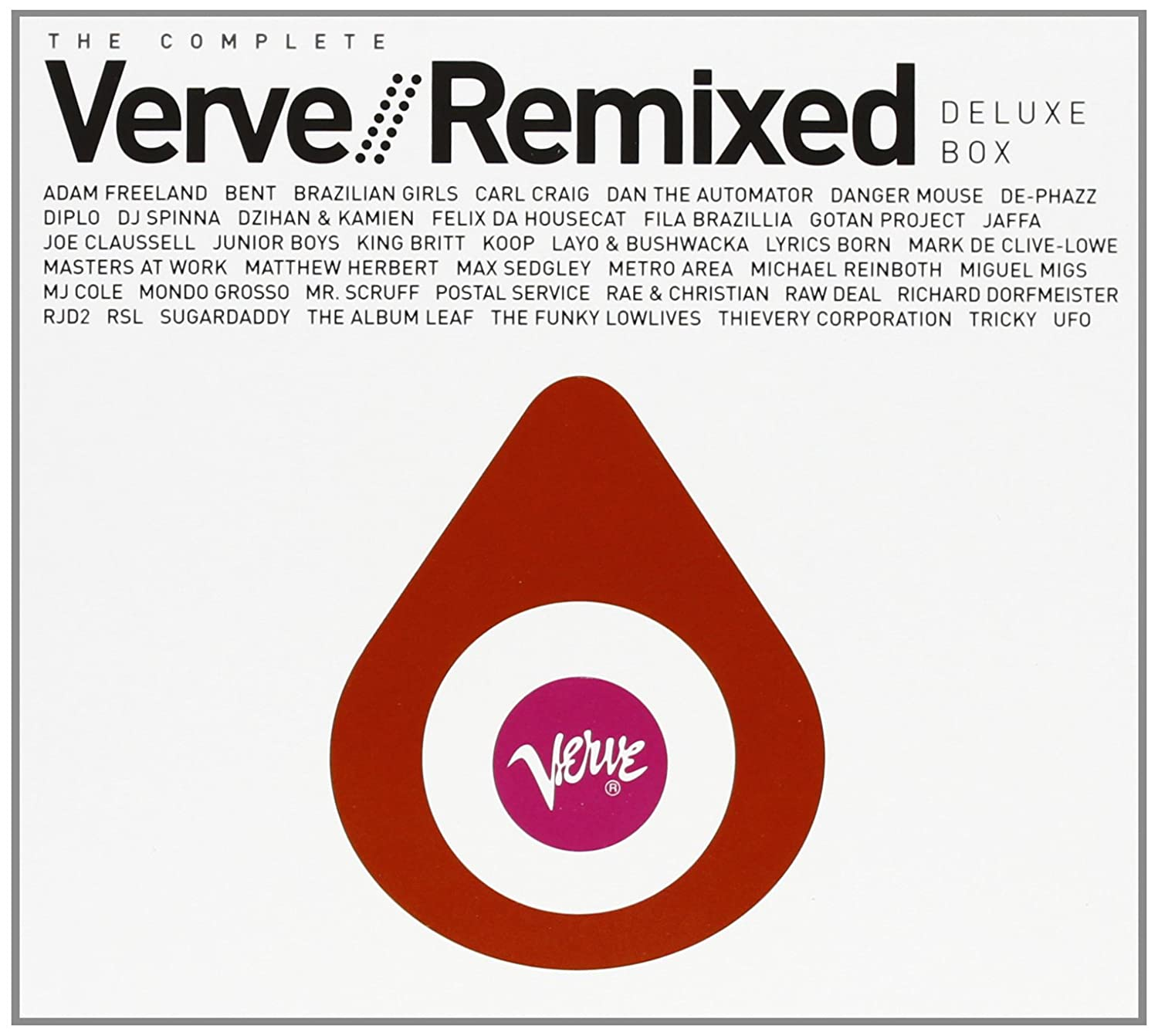 Complete Verve Remixed Deluxe Box                                                                                                                                                                                                                                                                                                                                                                                                <span class=