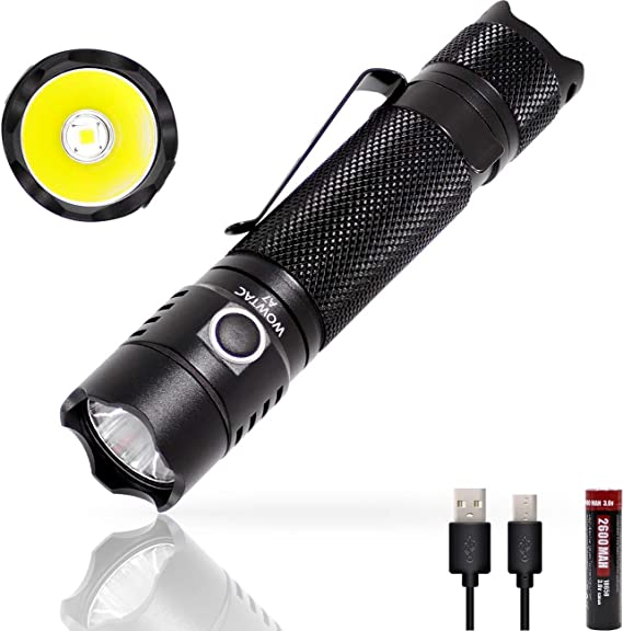 WOWTAC A7 1040 Lumens Compact Tail Switch CREE LED Flashlight