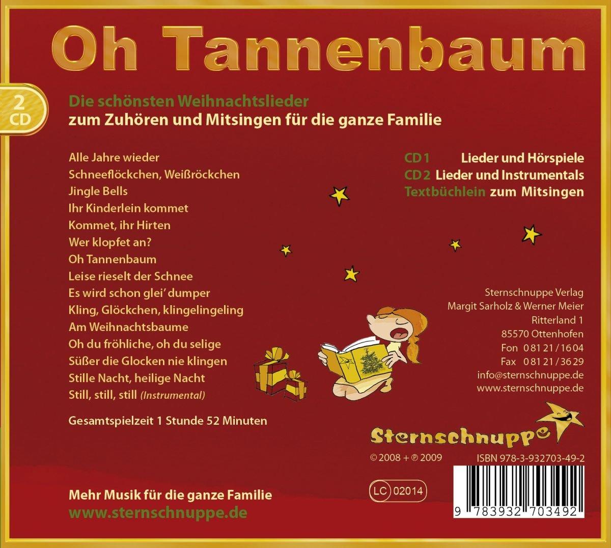 Oh Tannenbaum Oh.Sternschnuppe Oh Tannenbaum Amazon Com Music