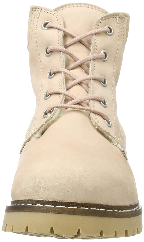 Bianco Stiefel Damen Warm Worker Chukka Stiefel Bianco Pink (Rose) f320f0