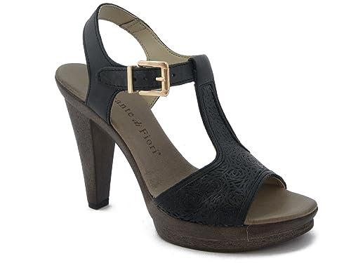 Sandalo Mercante di Fiori in Pelle 108fb2da2a1