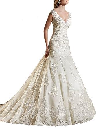 Rhinestone Mermaid Wedding Dresses
