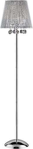 ORE International K-5142F Dreamer Crystal Floor Lamp