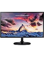 """Samsung S24F350 Monitor per PC Desktop 24"""" Full HD, 1920 x 1080, 60 Hz, 5 ms, D-Sub, HDMI, Pannello PLS, Nero"""