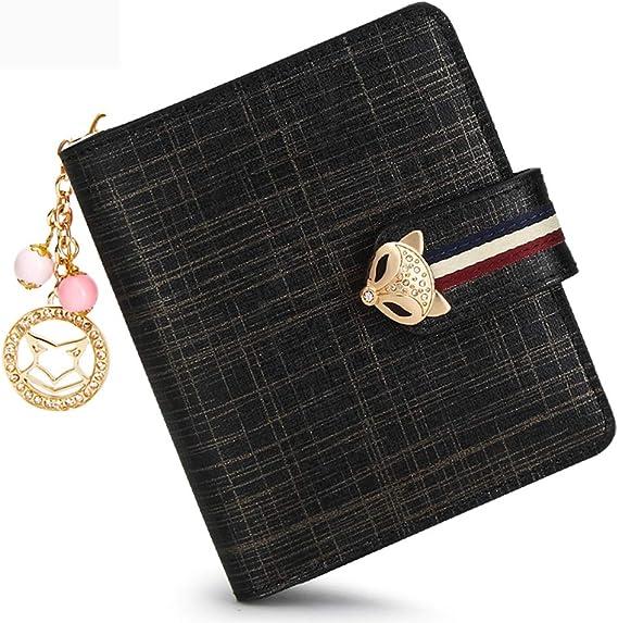 Fox zipper pouchchange purse walletmini walletsmall zipper pouchhandmade walletwomen/'s wallet