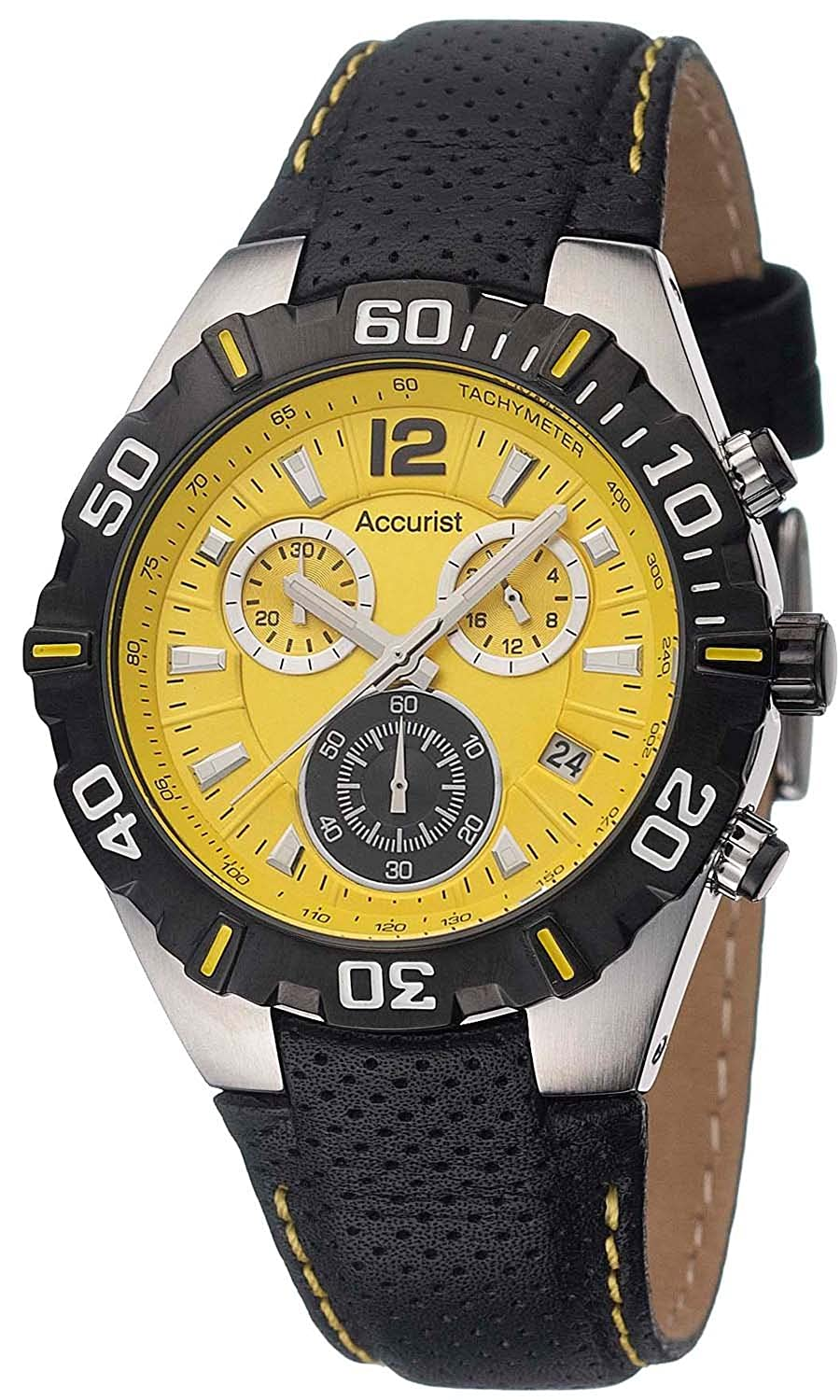 dial yellow ferrari chronograph panerai item fer image granturismo watches