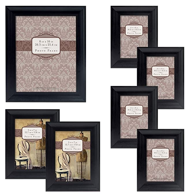 Mcs 10pc Picture Frame Value Set Two 8x10 In Four 5x7 In Four