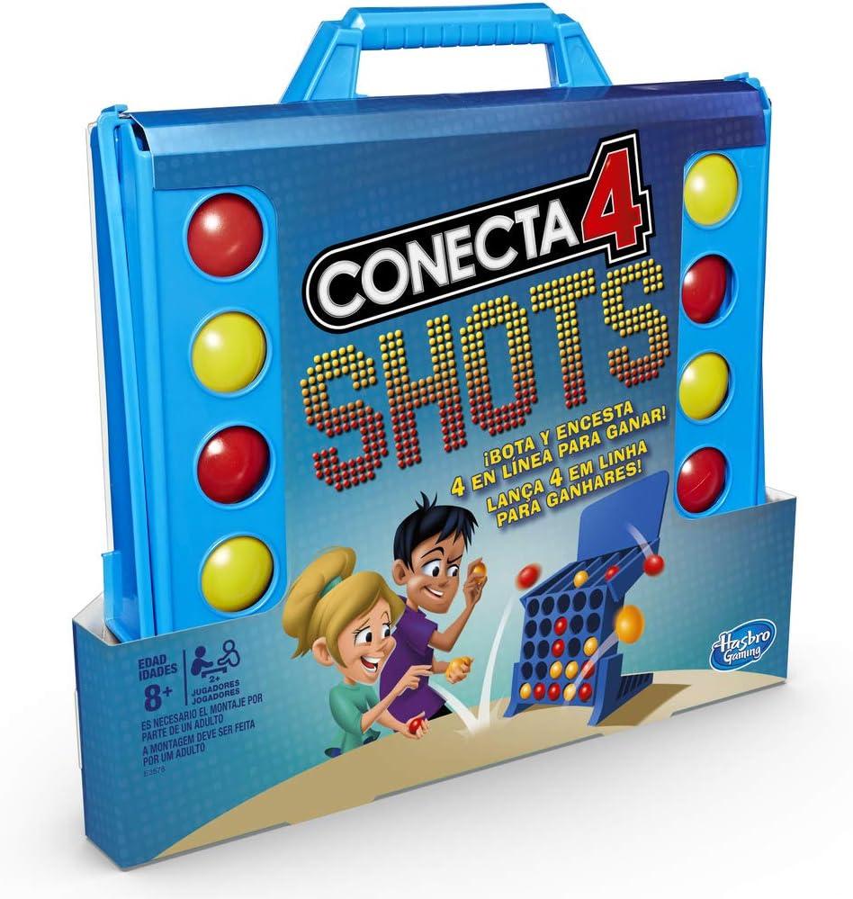 Hasbro Gaming - Juego de mesa Conecta 4 Shots (Hasbro E3578175): Amazon.es: Juguetes y juegos