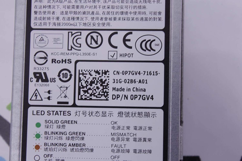 Amazon com: Redundant PSU 350W P7GV4 For Dell Poweredge
