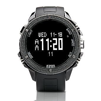 amazon com ezon outdoor hiking watch compass barometer ezon outdoor hiking watch compass barometer altimeter temperature men watch h501a01