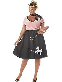 2cfa911f2c9e California Costumes Women's Plus-Size 50's Sweetheart Plus