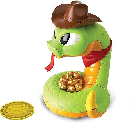 Game Get The Gold Before He Strikes w// Bonus 24pcs Puzzle Rattlesnake Jake