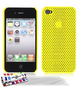 Muzzano F9A11-37658204 - Funda para Apple iPhone 4, con 3 ...