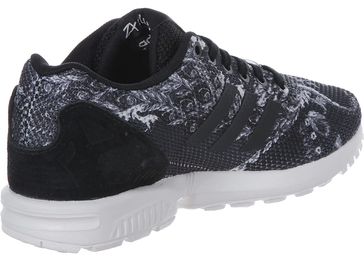 Amazon.com | adidas Originals Womens Originals Zx Flux Trainers Core US6 Black | Track & Field & Cross Country