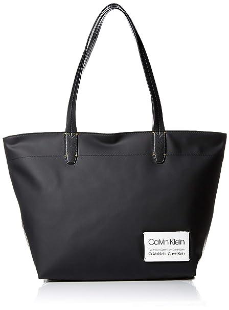 Amazon.com: Calvin Klein Celia Bolso pequeño de piel vegana ...