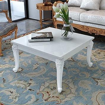 binzhoueushopping Table Basse Laquée Blanc Table Basse Salon ...