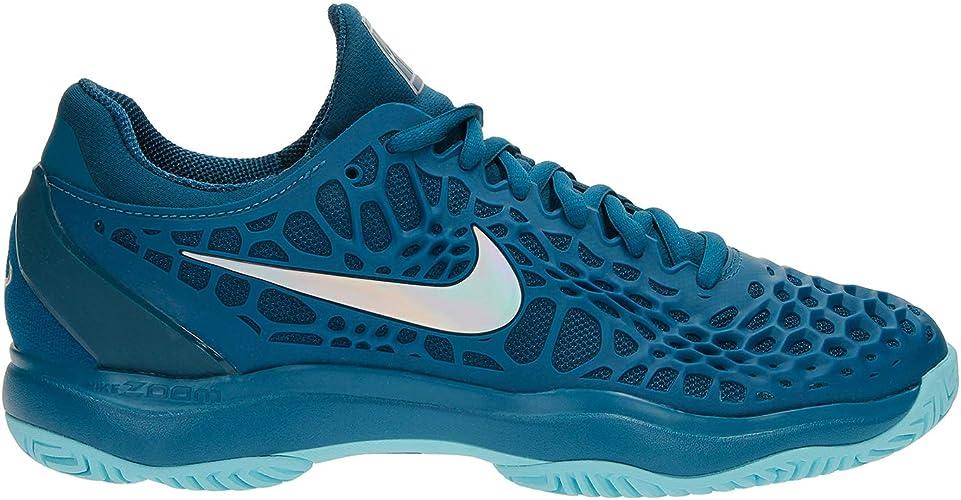 Migración Ceder el paso Misericordioso  Nike Air Zoom Cage 3 Clay RAFA - Men's Tennis Shoes - UK Size 11.5 Petrol  Blue: Amazon.co.uk: Shoes & Bags