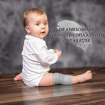 Krabbeln Anti-Rutsch-Kniepolster vpuquuz Knieschoner f/ür Baby Unisex f/ür Babys und Kleinkinder 1-3 Jahre dehnbar