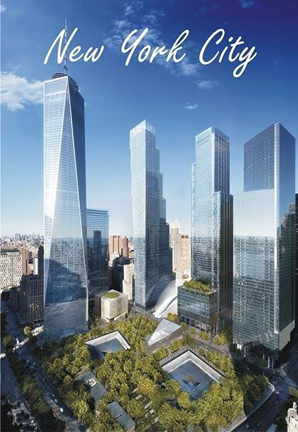 Amazon Com New York City Ny Freedom Tower Skyline One World