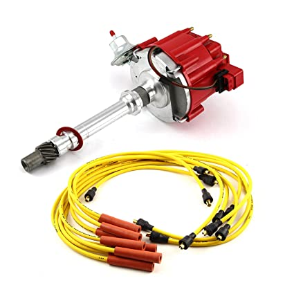 Pleasant Amazon Com Sbc 350 Bbc 454 Hei Distributor Accel Spark Plug Wires Wiring Digital Resources Xeirawoestevosnl