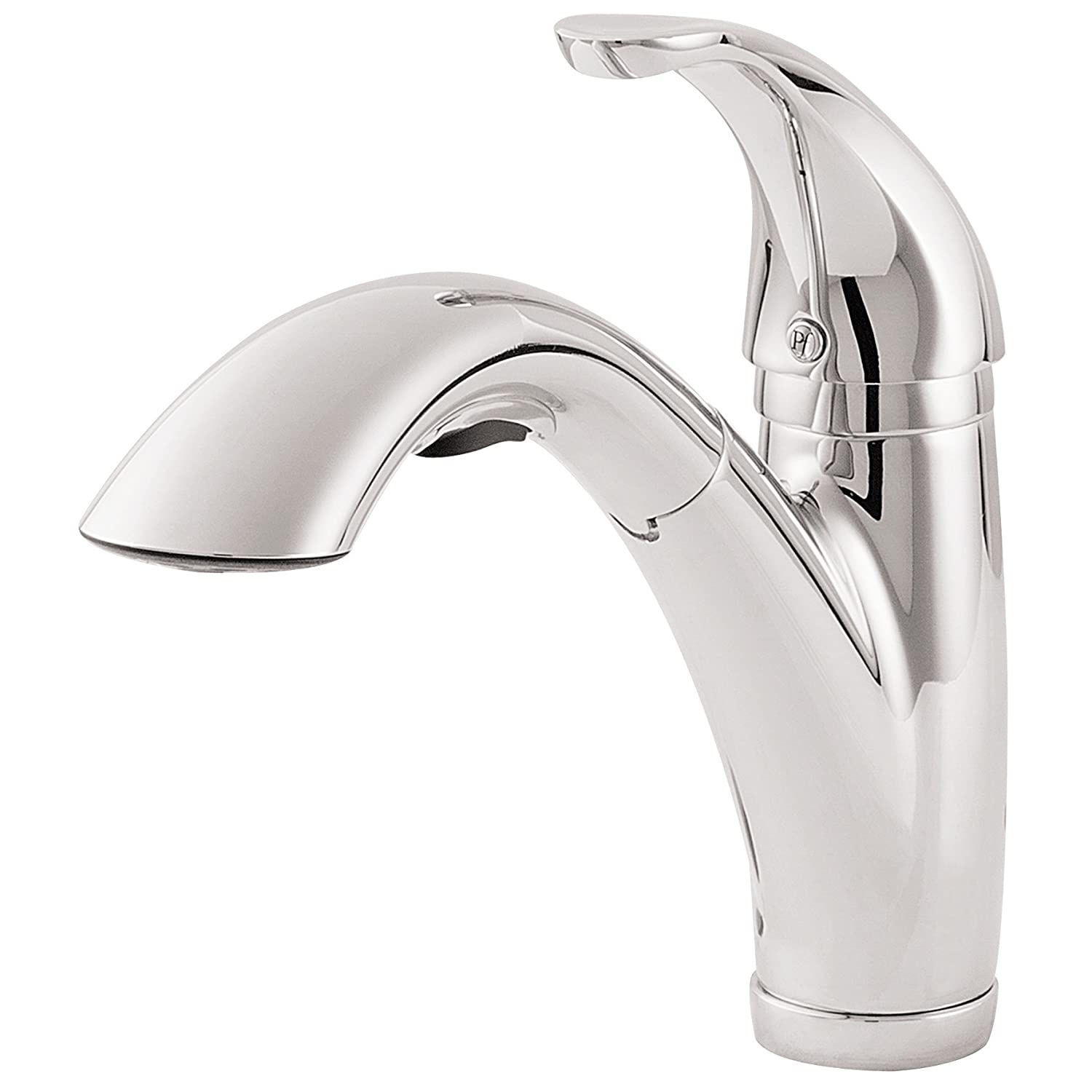 pfister gt534 7cc parisa 1 handle pull out kitchen faucet