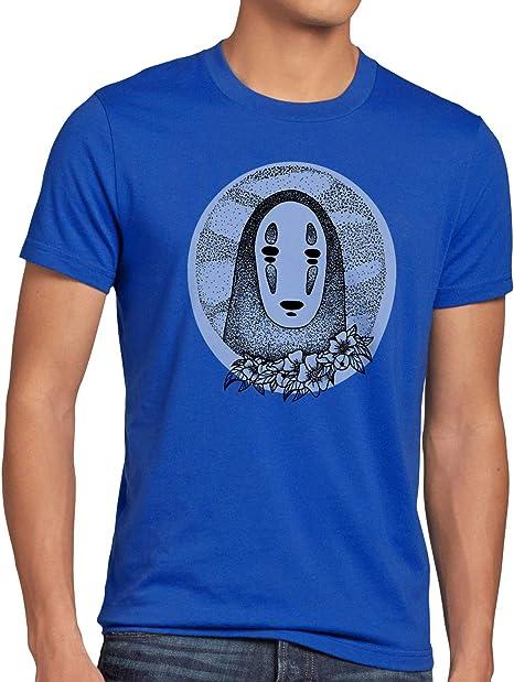 style3 Punto Sin Rostro Camiseta para Hombre T-Shirt Viaje de Chihiro Anime Manga: Amazon.es: Ropa y accesorios