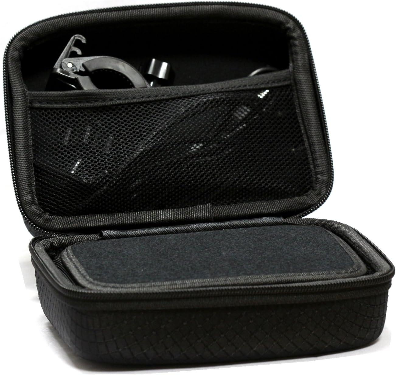 Navitech /Étui Rigide//Housse Noir Compatible avec GPS Auto Compatible avec NAVITEL T757 LTE 7
