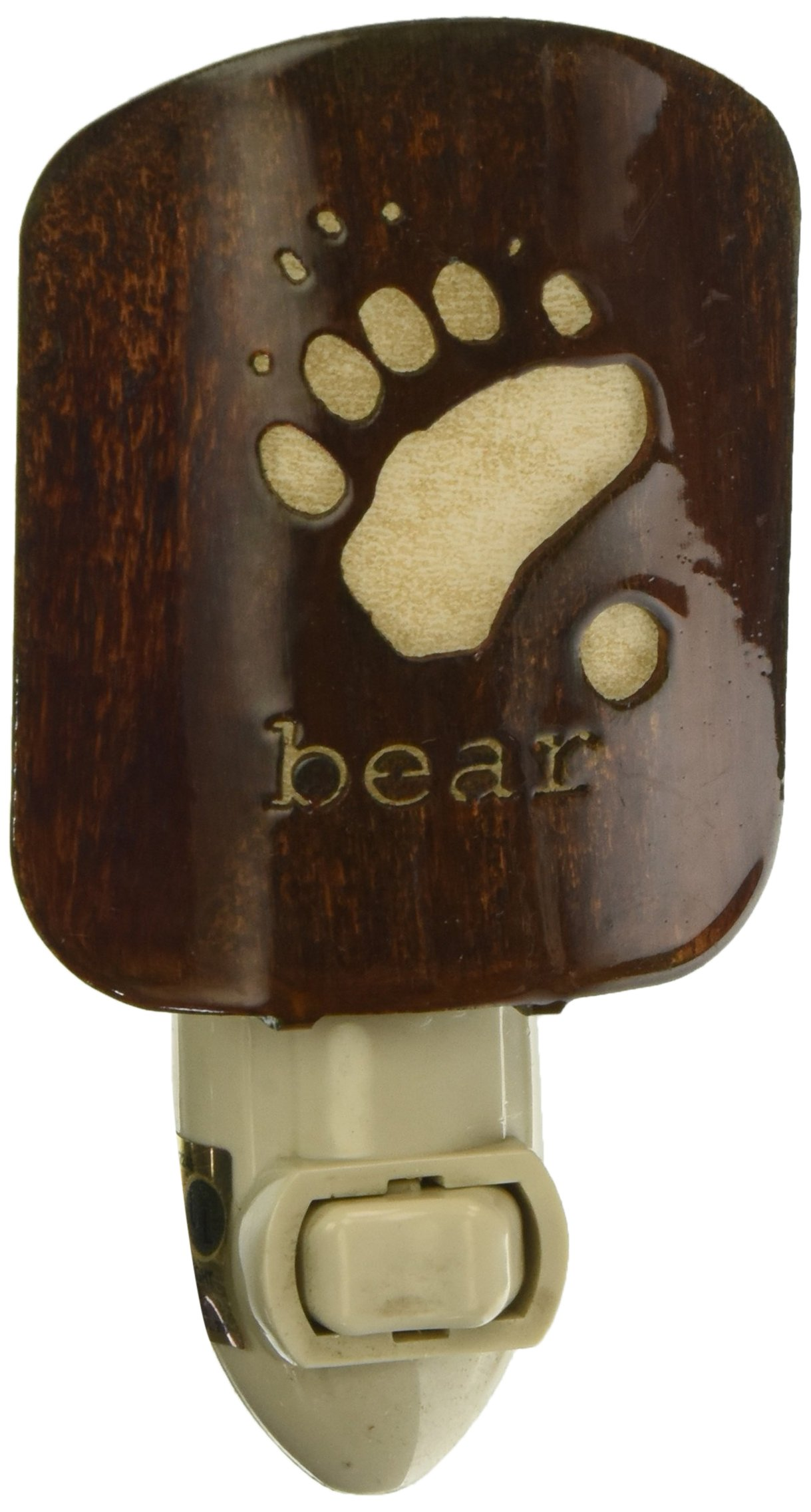 Thirstystone BNLBETRKHP Laz NL Bear Tracks Nightlight HP, Honey Pinion